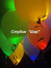 Украшение воздушными шариками свадьбы,  выпускного,  последнего звонка!