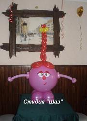 Шарики с гелием,  букеты из воздушных шариков,  украшение воздушными шар