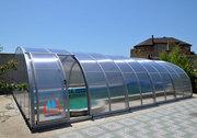 Павильоны для бассейнов в Украине,  крыши для бассейнов